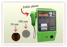 How to call public phone