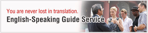 English speaking guide service
